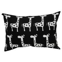 GROOVY GIRAFFE Lumbar Nursery Pillow - Giraffe