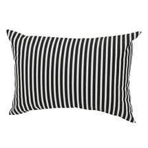GROOVY GIRAFFE Lumbar Nursery Pillow - Stripe