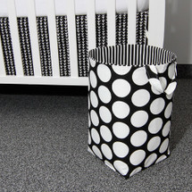 GROOVY GIRAFFE Soft Nursery Hamper - Large Dot with Stripe