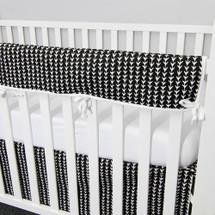GROOVY GIRAFFE Baby Crib Rail Protector