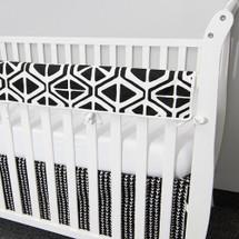 MIDNIGHT Baby Crib Rail Protector