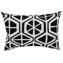MIDNIGHT Lumbar Nursery Pillow - Geo