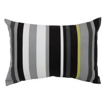 MIDNIGHT Lumbar Nursery Pillow - Licorice Black