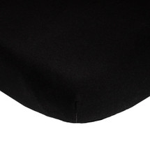 Lifetime FITTED CRIB SHEET Black