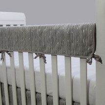 GREY DEER Crib Rail Protector - Bark