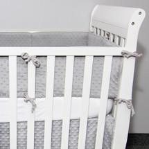 PLUSH BABY Crib Bumper Pads