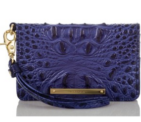 Brahmin Debi Turkish Blue Melbourne Wallet