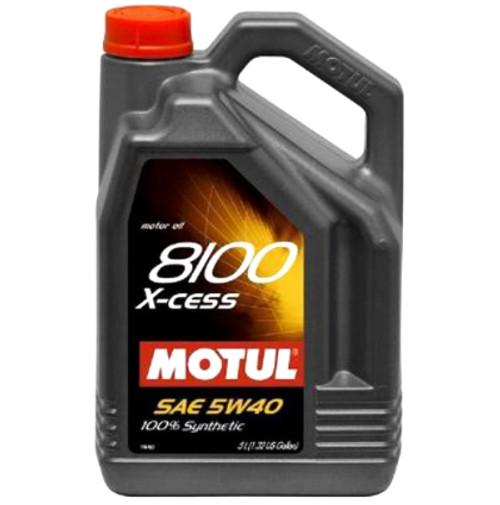 Motul 8100 X-Cess 5W-40 Engine Oil