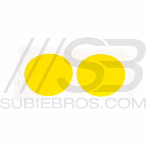 Yellow Tint Fog Light Overlays