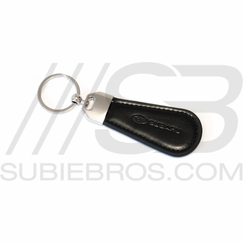 Leather Subaru Key Chain