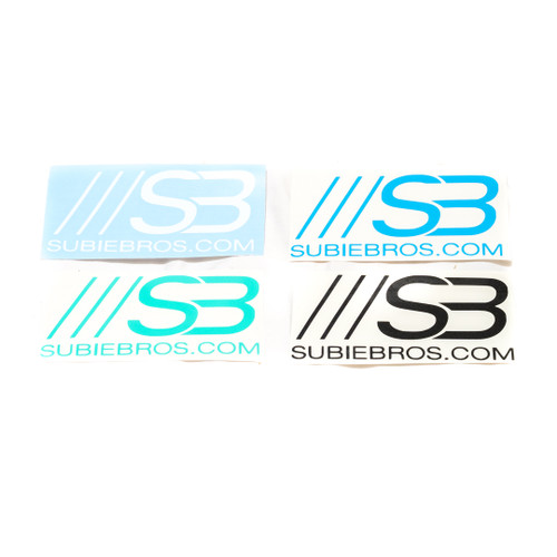 SubieBros Vinyl Stickers