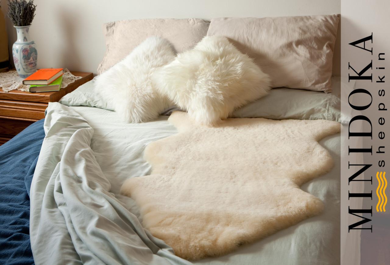 medical sheepskin underlay bed pad