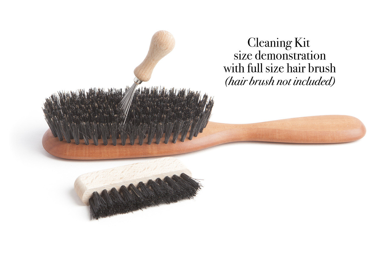 Hair brush and comb cleaning kit, made in Germany