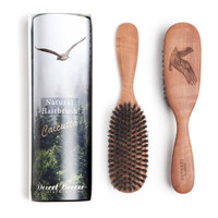 Calcutta bristle hair brush, pure boar bristle, made in Germany