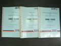 ZPS Vertical Machining Center VMC1050 Manual Set Maintenance, Service, & Parts