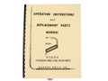 Barnesdrill H3 & H4 Hydram Drilling Machine Operators & Parts List Manual  Cover