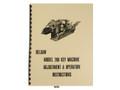 Foley Belsaw Model 200 Key Machine Adjustment & Operation Manual cover