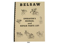 Foley Belsaw Model 1200 Saw Filer Operators Manual & Repair Parts List Cover