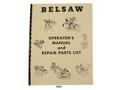 Foley Belsaw Model 1200 Saw Filer Operators Manual & Repair Parts List Cover