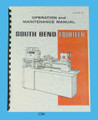 "South Bend 14"" Lathe Fourteen Operation, Maintenance, & Parts List Manual *1280"