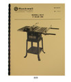Rockwell Delta Table Saw 889