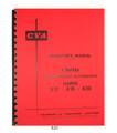 CVA  A12, A16, A20 Auto Screw Machine Lathe Operator Manual #820