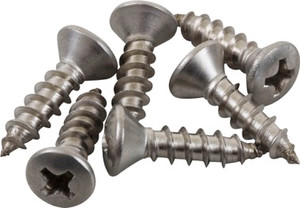 "1"" Tapping Screw (6ea) by Sea-Lect Designs"