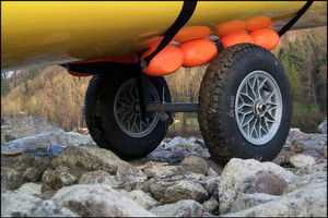 Expedition Canoe Cart 16' Wheel by Western Canoeing Manufacturing