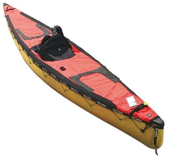 Solo lace on canoe spray deck western canoeing and kayaking for Solo fishing canoe