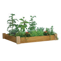 Gronomics-Modular-Raised-Garden-Bed-48x48x6.5---One-Level