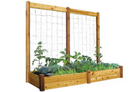 "Gronomics-Raised-Garden-Bed,-34""Wx95""Lx13""H,-Safe-Finish"