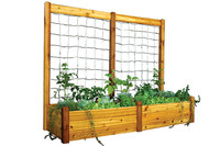 "Gronomics-Raised-Garden-Bed,-34""Wx95""Lx19""H,-Safe-Finish"