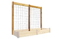 "Gronomics-Raised-Garden-Bed-Trellis-Kit-95x80""H-Safe-Finish"