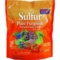 BONIDE SULFUR PLANT FUNGICIDE micronized spray or dust 4 lbs.