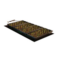 "Hydrofarm-48""x20""-Seedling-Heat-Mat-107watts"