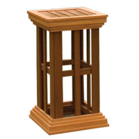 """Arboria-20""""-Trellis-Column"""
