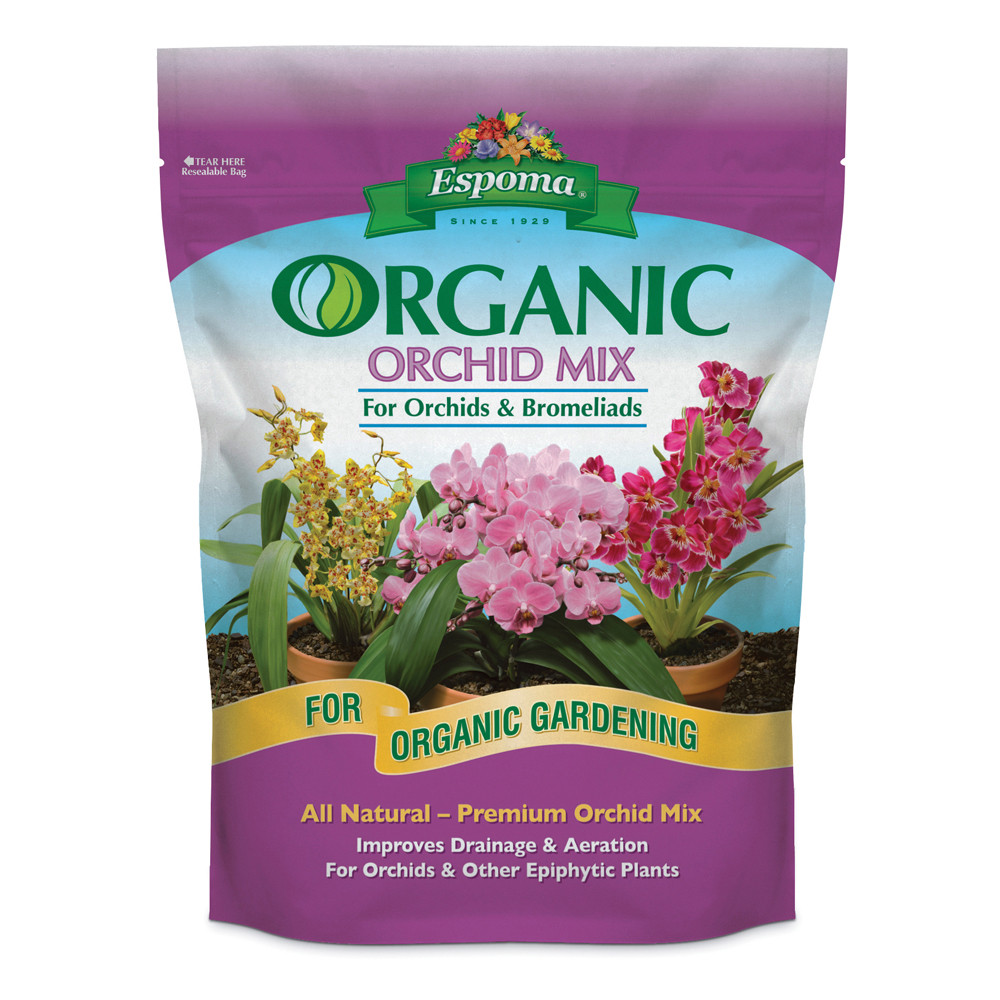 Espoma 4qt organic orchid mix for Organic soil