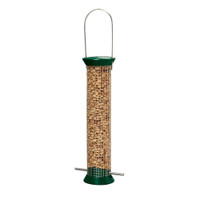 "Droll-Yankees-13""-Green-New-Generation-Metal-Peanut-Feeder"