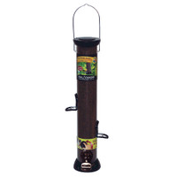 "Droll-Yankees-18""-Onyx-Nyjer-Tube-Feeder-w/Removable-Base"