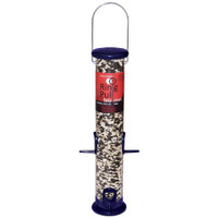 Droll Yankees 15in Midnight Blue Ring Pull Tube Seed Feeder