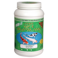 Eco Labs MLLFGMD Fruits and Greens Koi and Goldfish Food, 2-Pound