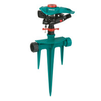 Gilmour-Poly-Impulse-Head-Sprinkler-On-Poly-Spike-Base