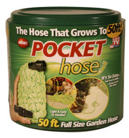 Pocket Hose Full Size Garden Hose, 50 ft.