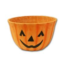 """10""""-Timberblend-Pumpkin-Face-Planter-by-Austrum"""