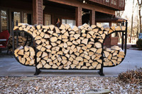 Woodhaven-Courtyard-Firewood-Rack-with-Standard-Cover