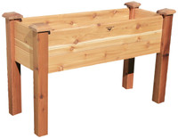 "Gronomics-Elevated-Garden-Bed-18x48x32---10""D"