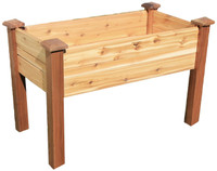 "Gronomics-Elevated-Garden-Bed-24x48x32---10""D"