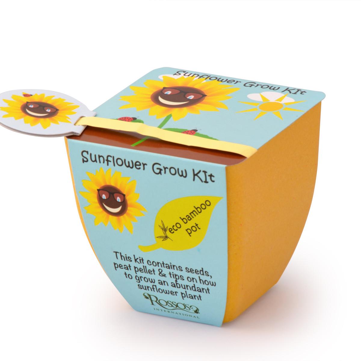 Rosso 39 s sunflower grow kit children 39 s kit for Gardening kit for toddlers