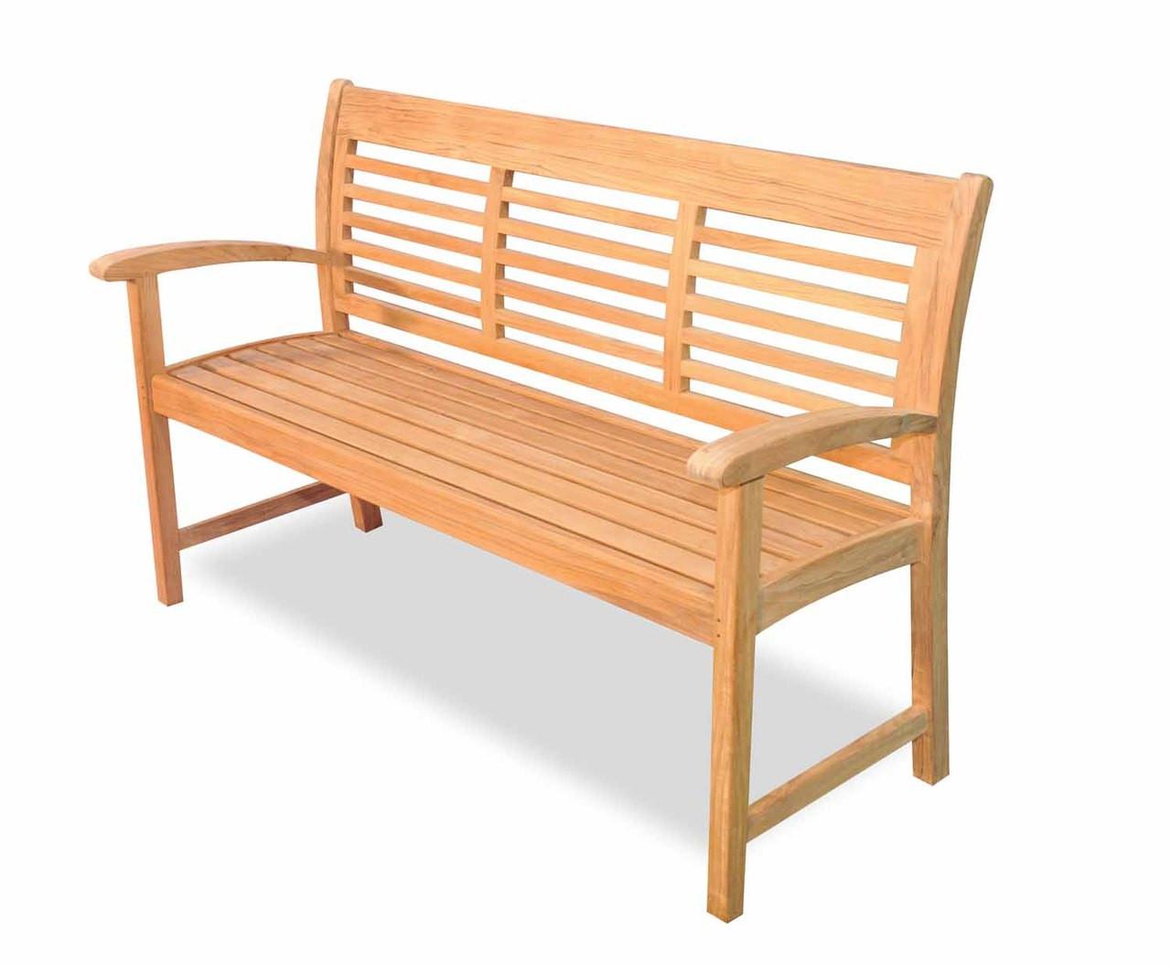 Westerly 5 Ft Teak Bench By Regal Teak Great Garden Supply