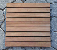 Teak Furniture Teak Tiles Slat Style